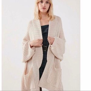 Urban outfitters Jesse oversized cardigan sweater